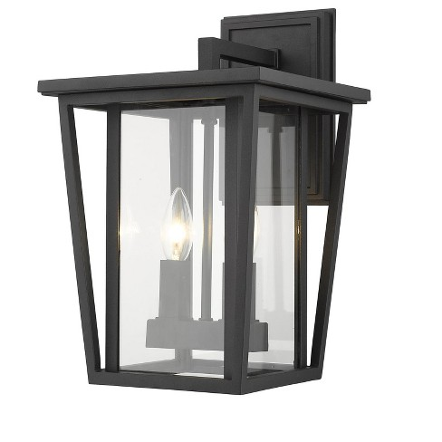 "Z-Lite 571M Seoul 2 Light 15"" Tall Outdoor Wall Sconce - image 1 of 1"