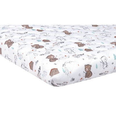 Trend Lab Playard Sheet - Fishing Bears
