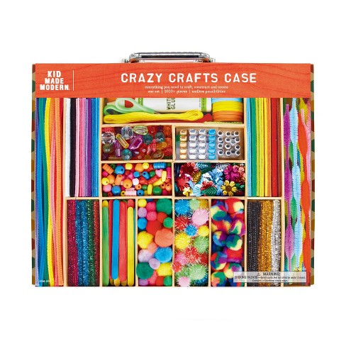 Kid Made Modern 1000pc Crazy Crafts Art Case Target
