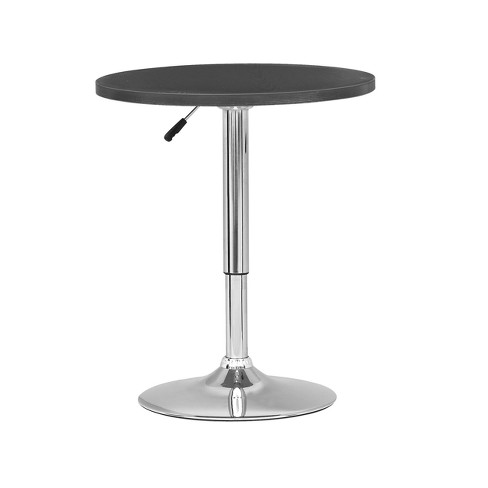 Adjustable Height Round Bar Table - CorLiving - image 1 of 3