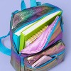 Girls' Iridescent Metallic Backpack - More Than Magic™ - image 2 of 3