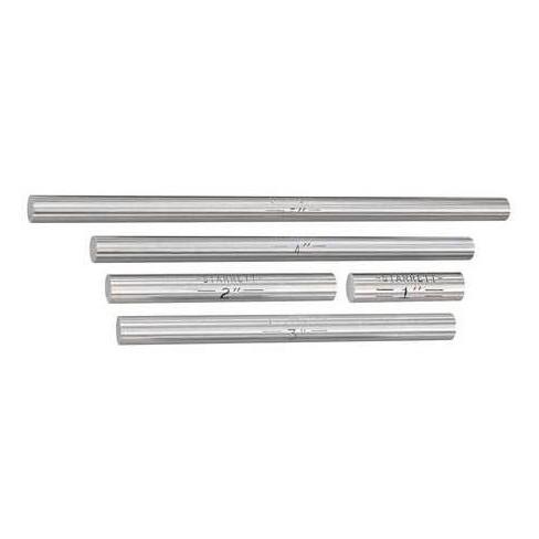 STARRETT S234E End Measuring Rod Set,1/4 In Dia,5 Pcs - image 1 of 1