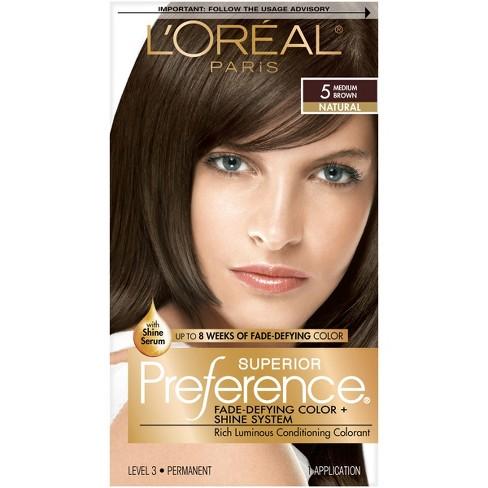 L Oreal Paris Superior Preference Permanent Hair Color Medium Rose Blonde