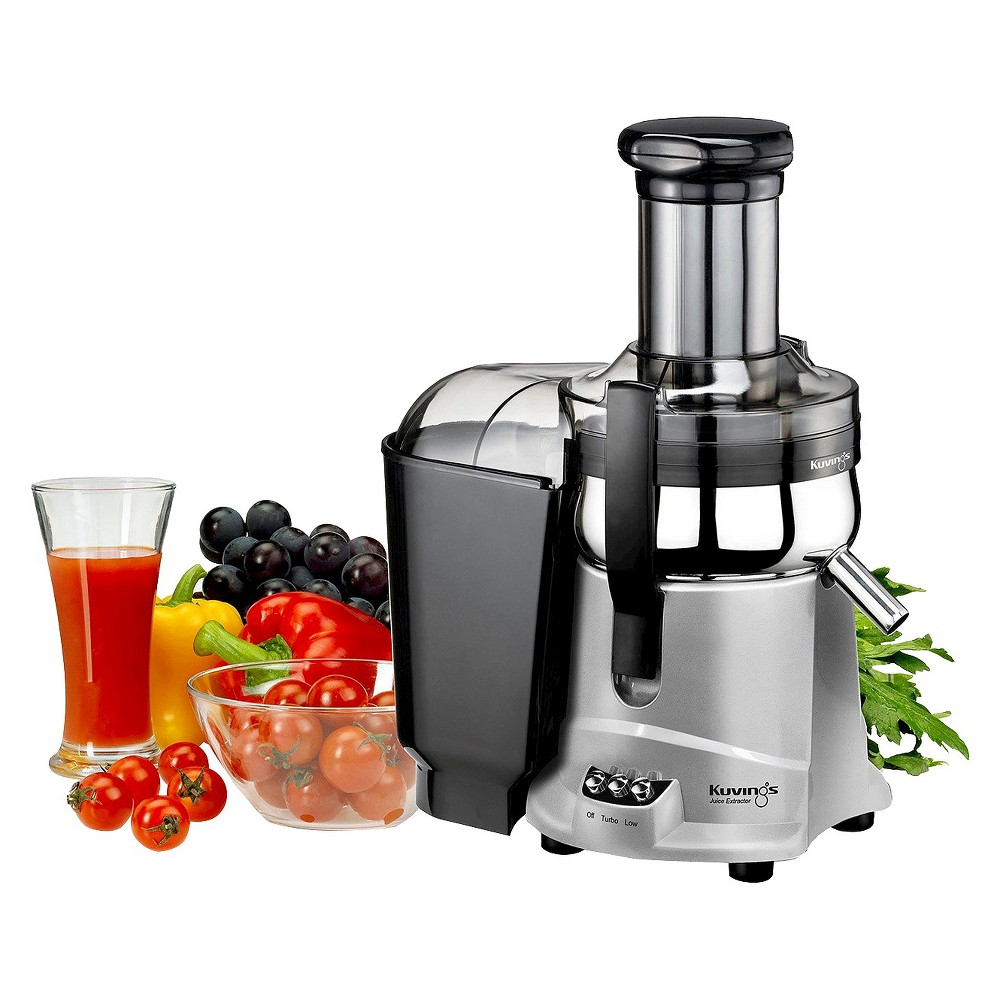 Kuvings Centrifugal Juicer NJ9500U - Silver