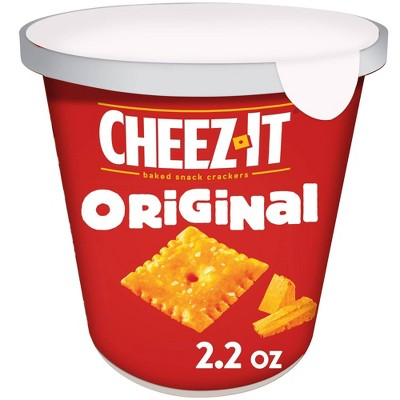 Cheez-It Original Baked Snack Crackers Mini Cup - 2.2oz
