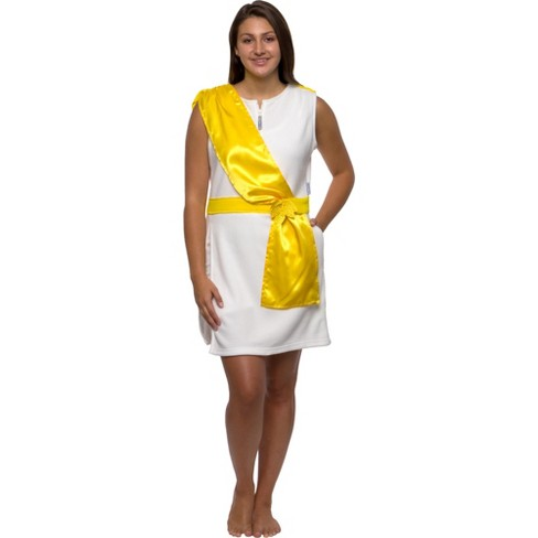 FUNZIEZ! - Greek Toga Tunic Slim Fit Women's Novelty Dress - image 1 of 4