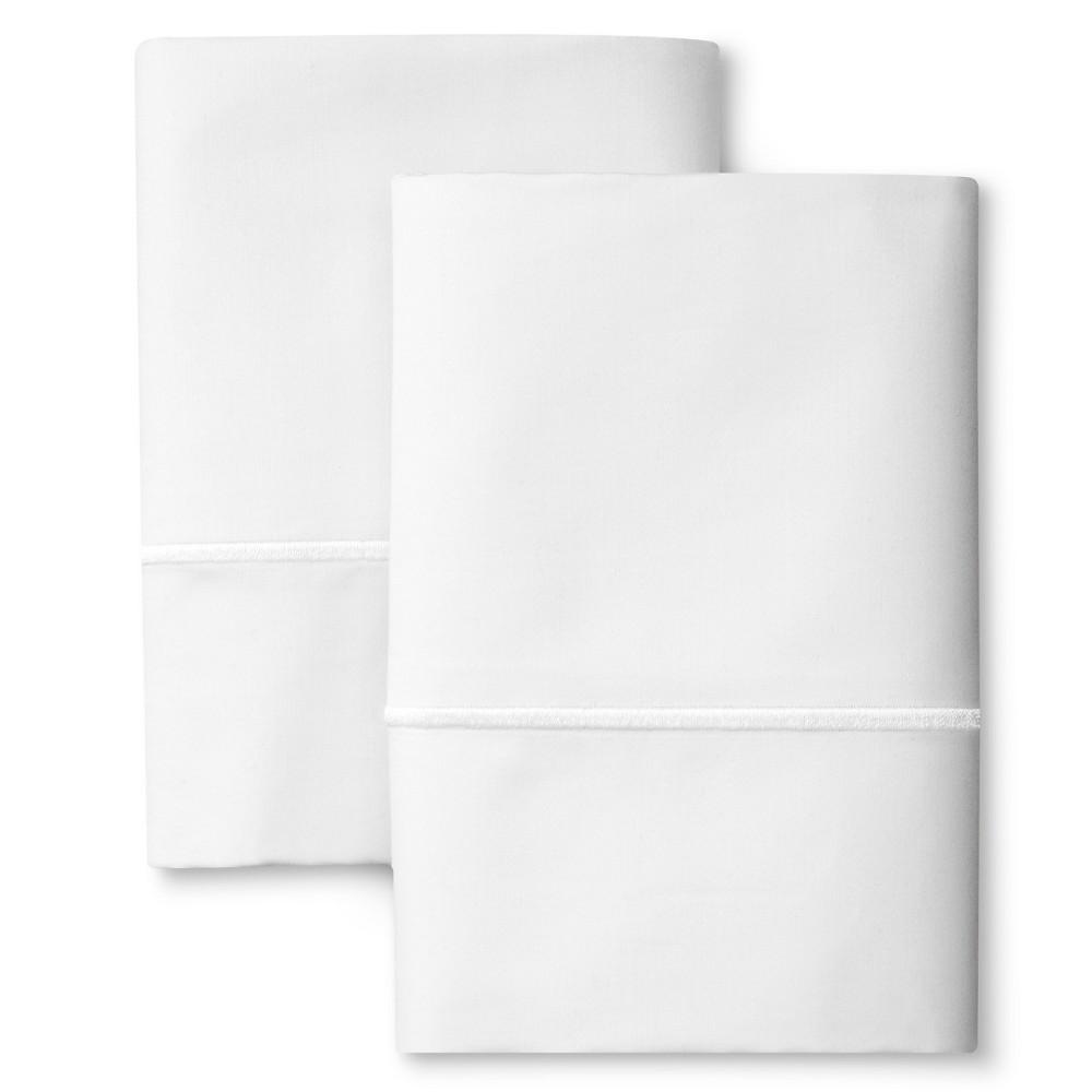 Supima Cotton Pillowcase Set (Standard) White 1000 Thread Count - Fieldcrest