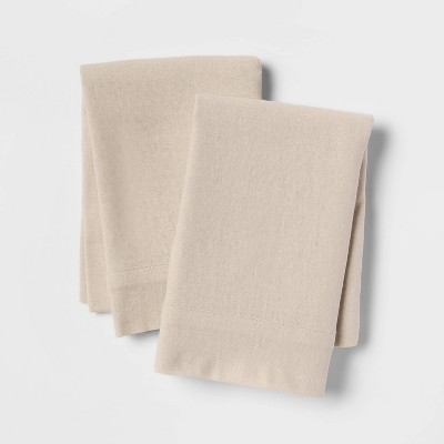 Linen Blend Solid Pillowcase Set - Threshold™