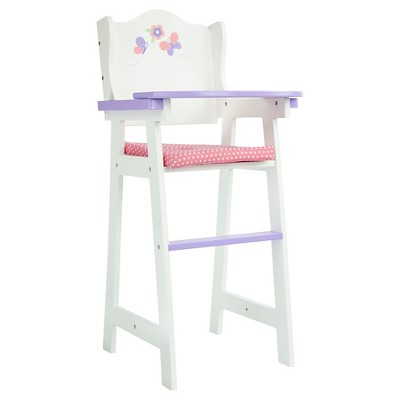 """Olivia's Little World - Little Princess 18"""" Doll Furniture - Baby High Chair"""
