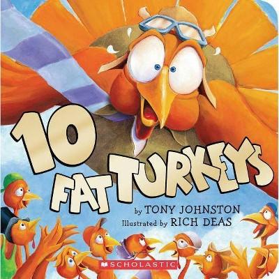 10 Fat Turkeys (Board Book)(Roger D. Johnston)