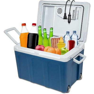 Ivation 45 Liter Portable Electric Cooler and Warmer - Great for Camping, Travel and Picnics