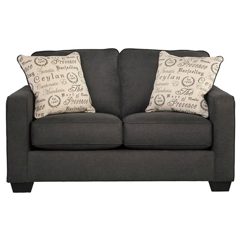 Alenya Loveseat - Charcoal - Signature Design by Ashley - image 1 of 4