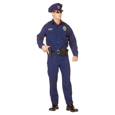 Adult Police Officer Costume - (XXL) (48-50)