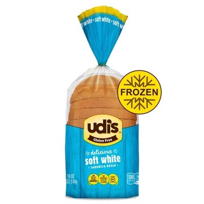 Udi's Gluten Free Frozen White Bread - 18oz
