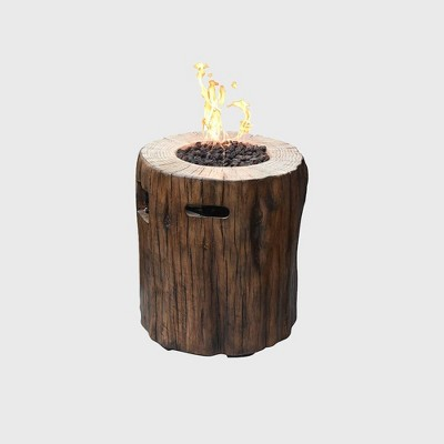 Mainsfiled Glass Concrete Propane Fire Pit Wood Modeno Target