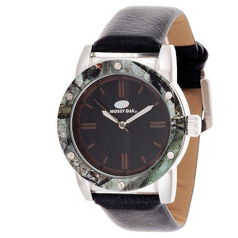 Men's Mossy Oak® Analog Watch - Black - image 1 of 2