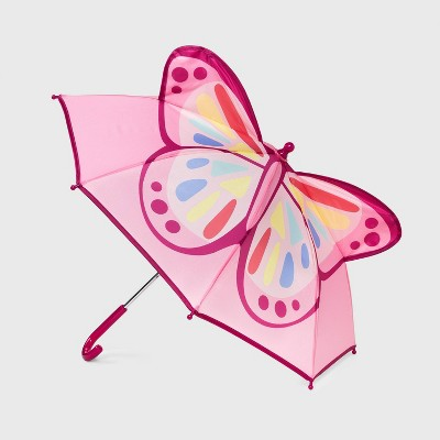Toddler Girls' Butterfly Stick Umbrella - Cat & Jack™