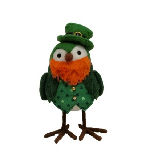 St. Patrick s Day Decorative Bird Figurine Green - Spritz™   Target d28af3e03f1a