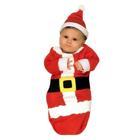3a8551679b9b Baby Santa Claus Bunting Costume 0-6M - Rubie s   Target