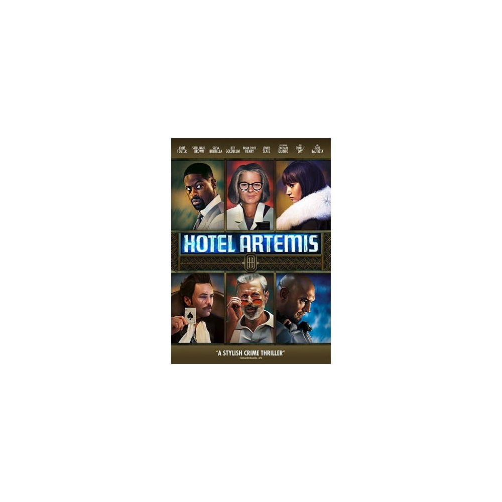 Hotel Artemis (Dvd), Movies