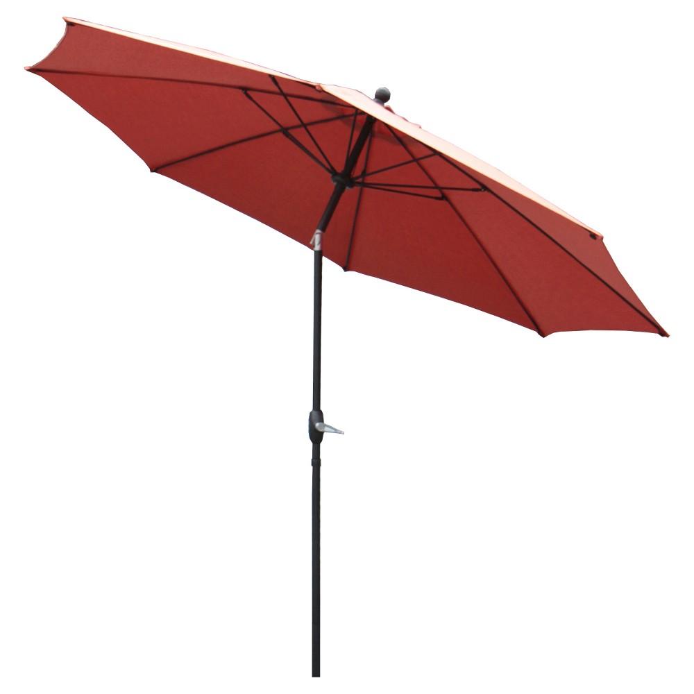 Image of AE Outdoor Market Umbrella 10' - Spectrum Grenadine
