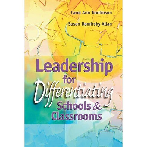 Leadership for Differentiating Schools and Classrooms - (Professional Development) (Paperback) - image 1 of 1