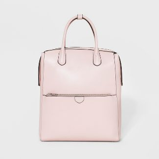 Zipper Tab Commuter Backpack - A New Day™ Pink