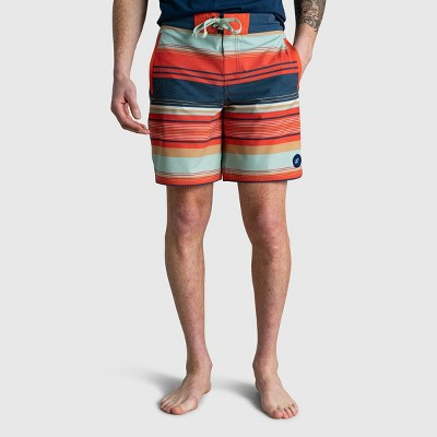 """Men's United By Blue Recycled 8"""" Scalloped Board Shorts"""