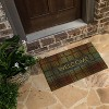 "18""X30"" Welcome Plaid Rubber Doormat - Mohawk - image 2 of 4"