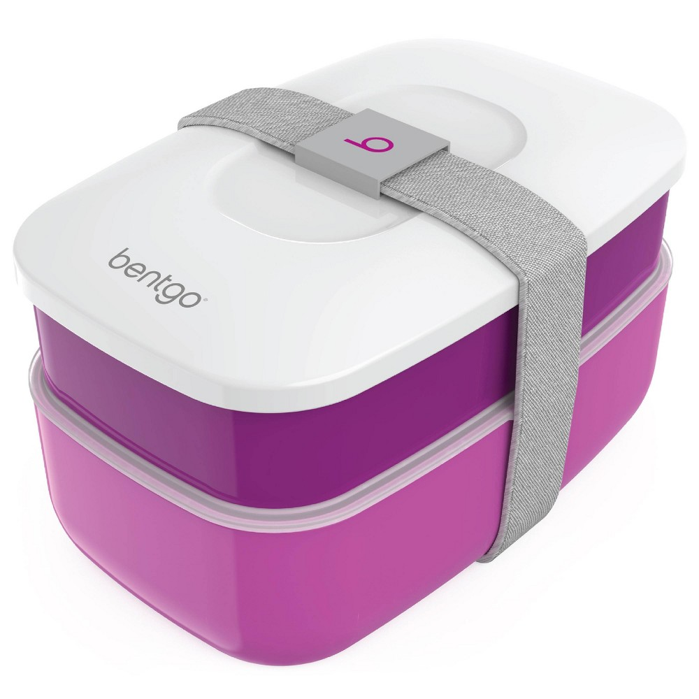 Image of Bentgo All-in-One Stackable Lunch Box - Purple