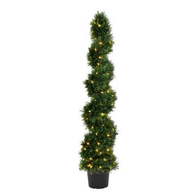 Vickerman Artificial Cedar Spiral Trees