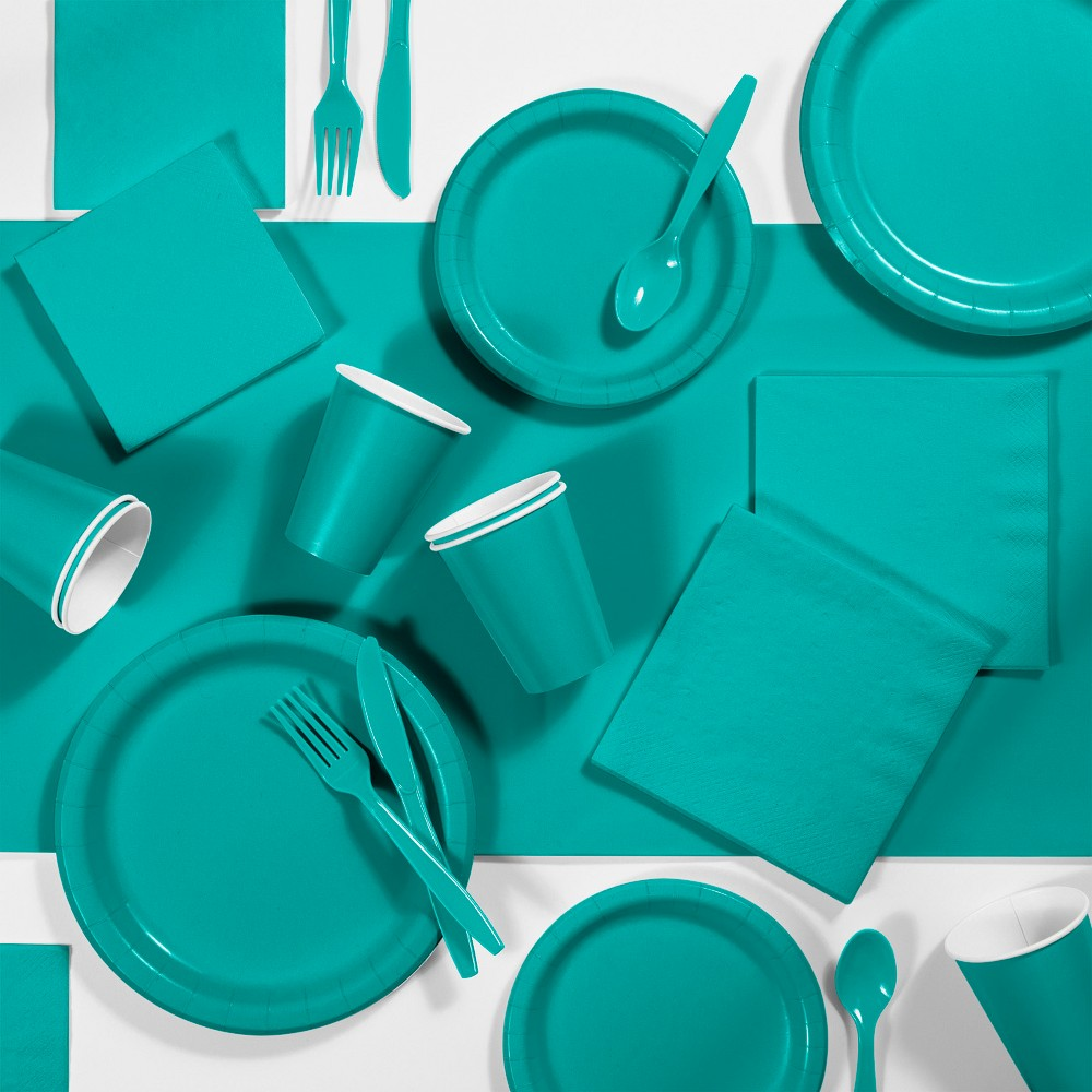 245pk Party Supplies Kit Teal Compare