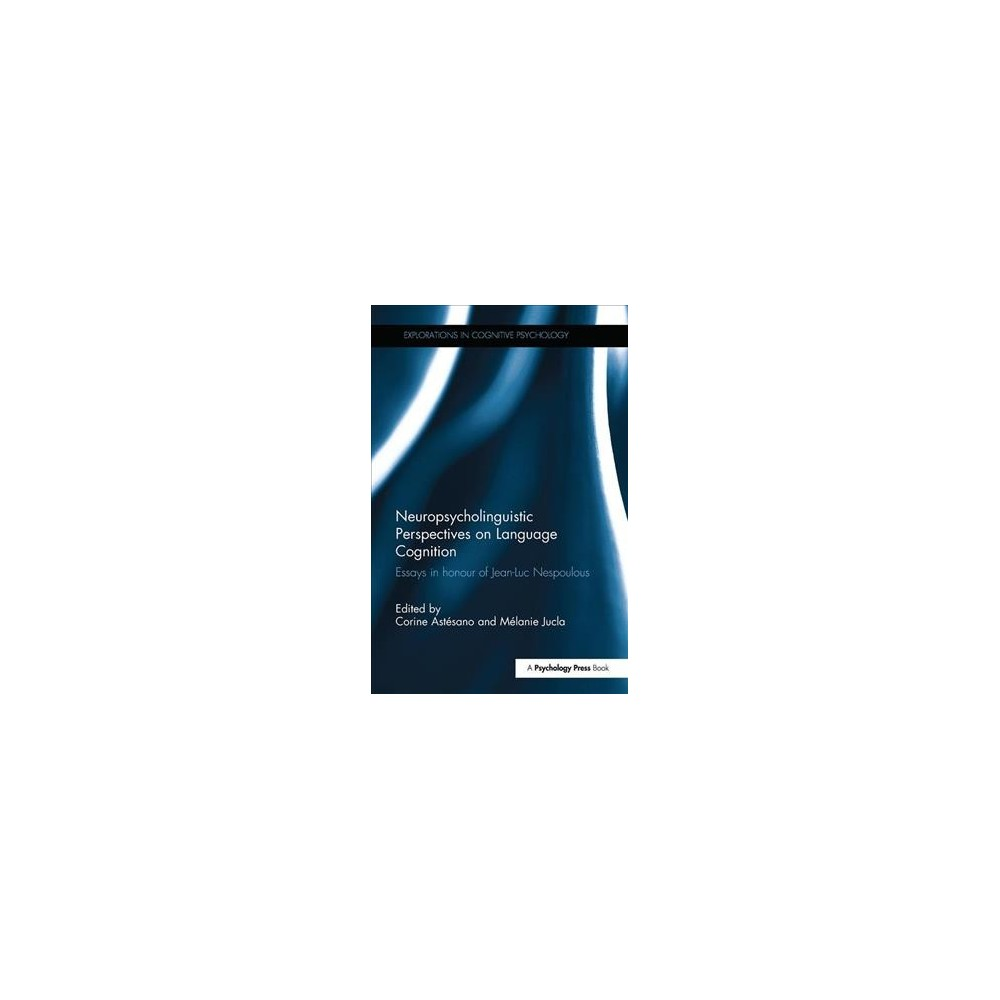 Neuropsycholinguistic Perspectives on Language Cognition - (Paperback)