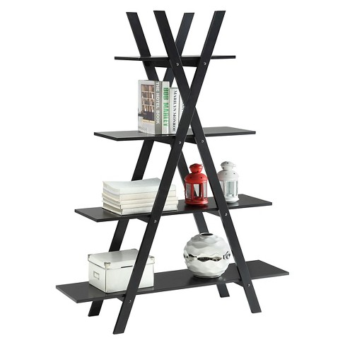 Oxford 59A Frame Bookshelf Black