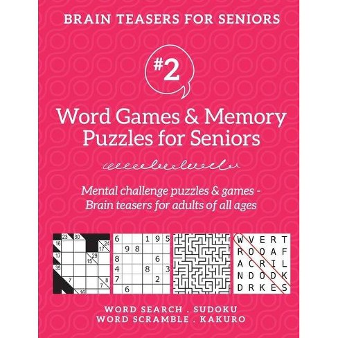 Brain Teasers for Seniors #2 - by  Barb Drozdowich (Paperback) - image 1 of 1