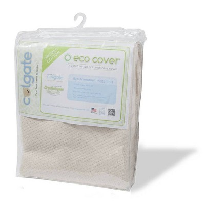 Colgate Mattress Eco Cover Organic Cotton Fitted Crib Mattress Cover