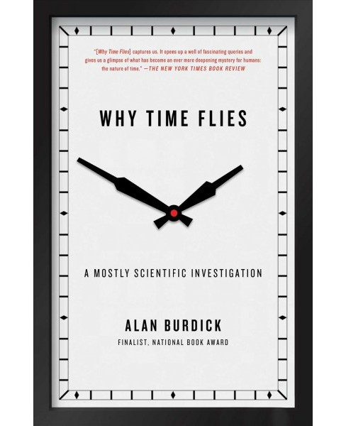 Why Time Flies : A Mostly Scientific Investigation -  Reprint by Alan Burdick (Paperback) - image 1 of 1