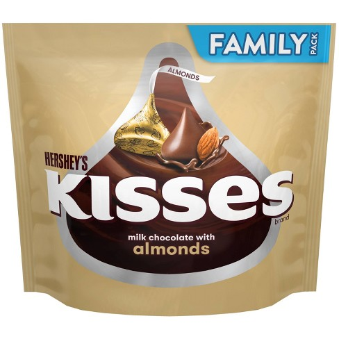 Kisses Almond Chocolate Candy - 16oz - image 1 of 4