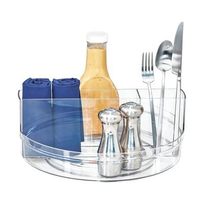 iDESIGN Crisp Tableware Turntable Clear