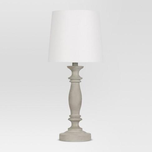 Turned Polywood Table Lamp - Threshold™ : Target