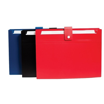 Staples 7 Pocket Open Top File Letter Assorted (51843) 2757018