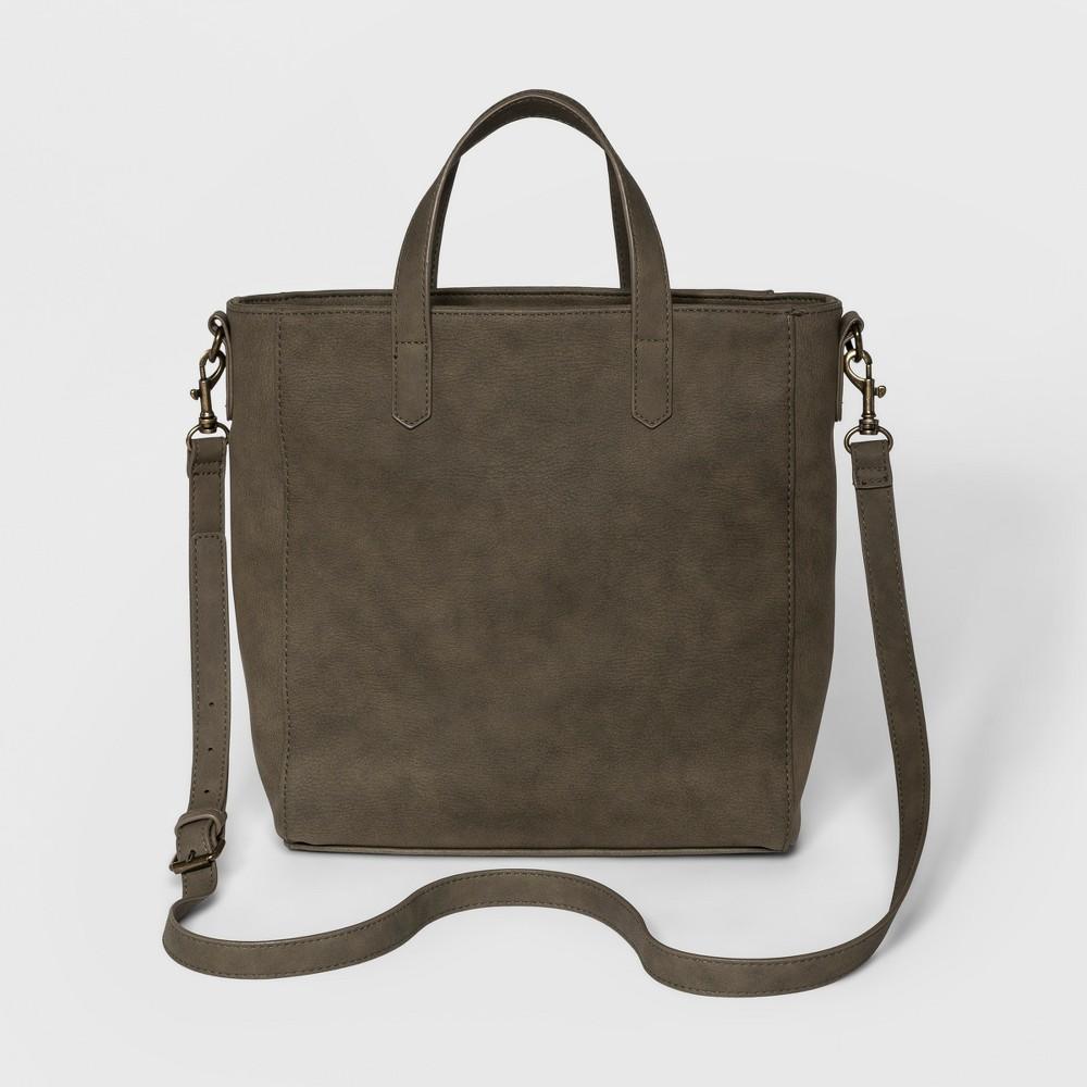 Rowan Small Tote Handbag - Universal Thread Deep Olive, Women's