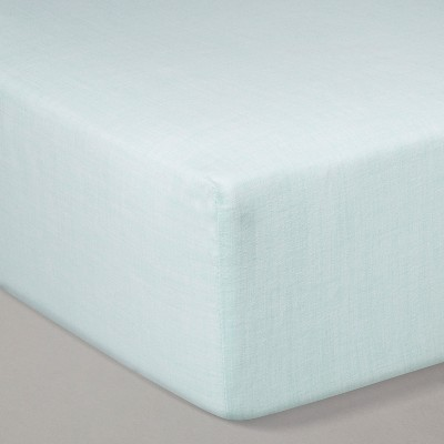 Crib Fitted Sheet - Cloud Island™ Nettle Green