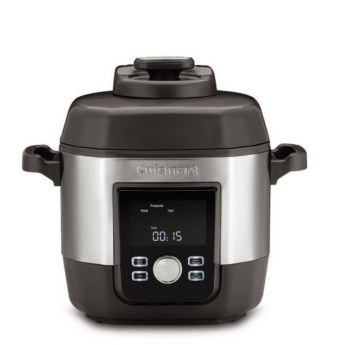 Cuisinart 6qt Pressure Cooker - Silver - image 1 of 3