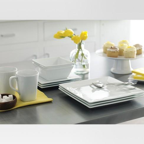 Square Rim Dinner Plate 10.2