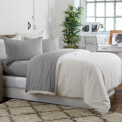 Great Bay Home Extra Soft Pre-Washed Microfiber Sheet Set : Target