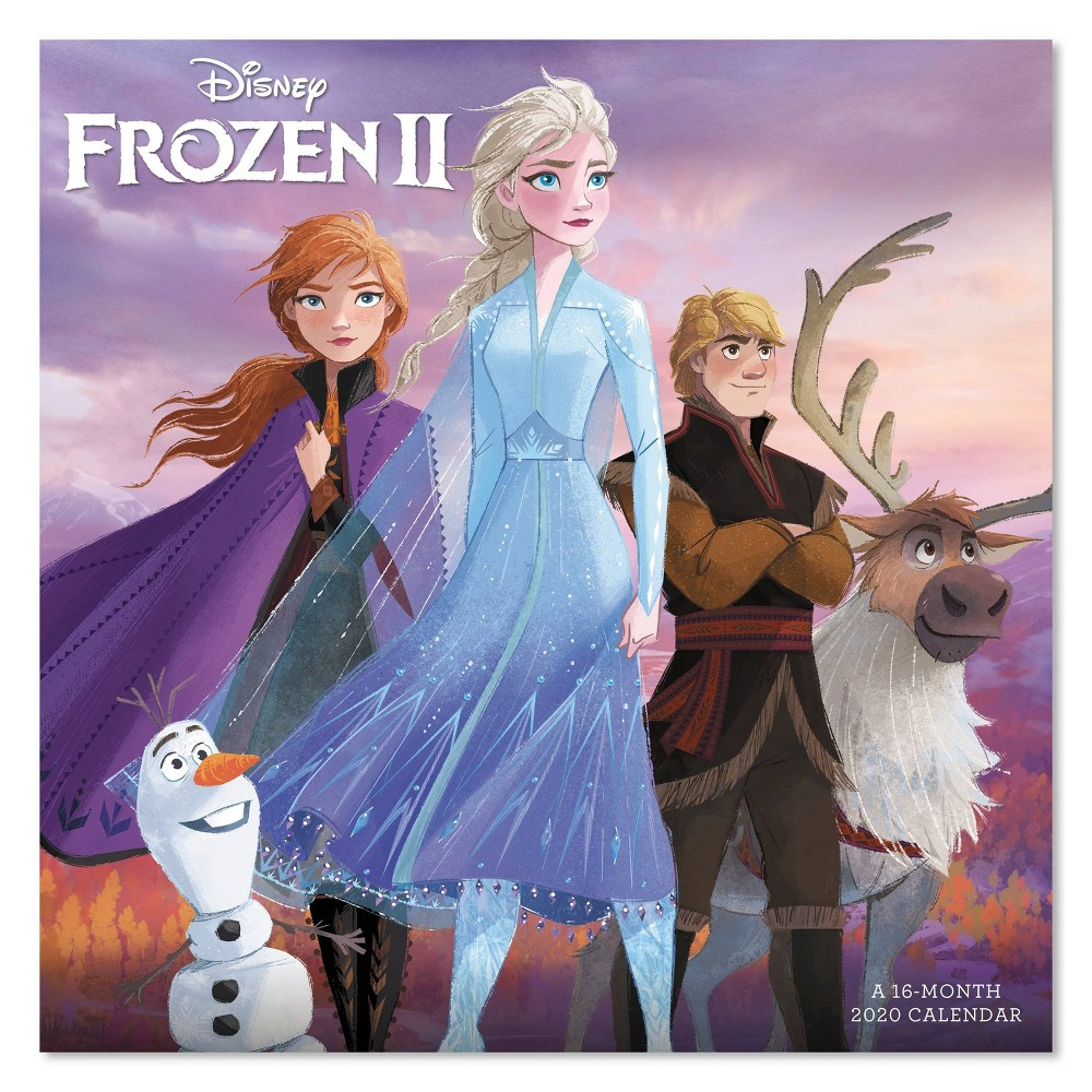 Image of 2020 Wall Calendar Frozen 2 Monthly - Mead