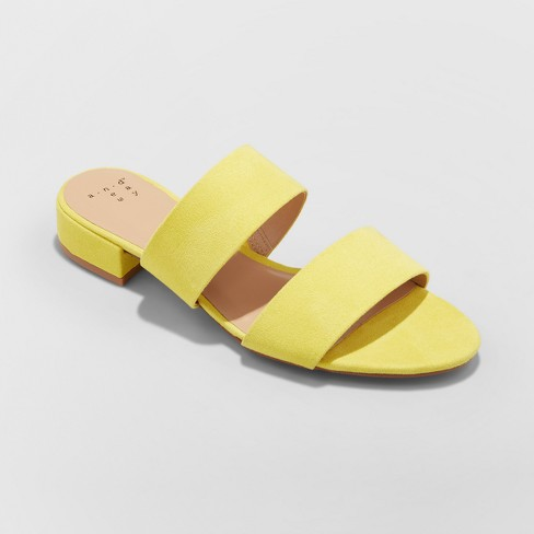 Women's Kyrielle Slide Sandals - A New Day™ - image 1 of 3