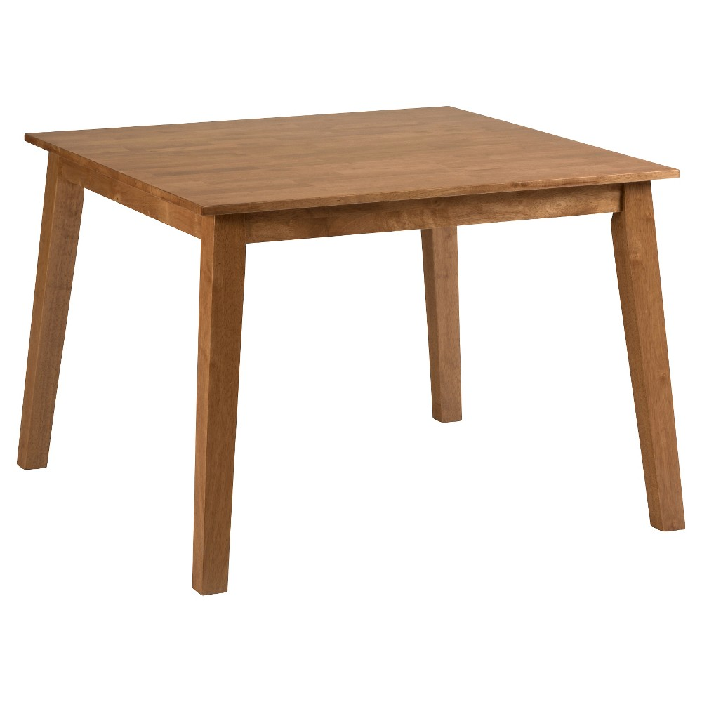 Simplicity Square Dining Table - Honey - Jofran, Honey Kissed