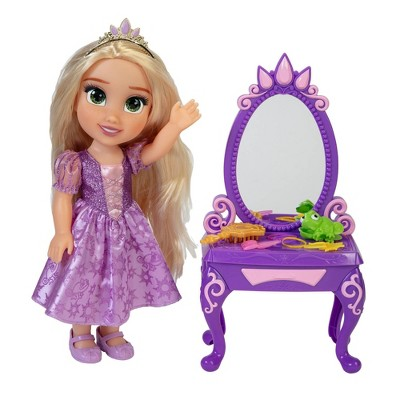 Disney Princess Rapunzel Doll with Vanity